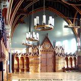 Erstrahlt wieder in seiner ursprünglichen Schönheit: der Plenarsaal © 2007 BBL M-V