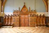 Der Plenarsaal im Ständehaus: ein Beispiel für den Umgang des Landes mit kulturhistorisch wertvollen Bauten. © 2007 Betrieb für Bau und LiegenschaftenMecklenburg-Vorpommern