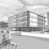 Universitätsklinikum Rostock  Campus Schillingallee © 2008 Architekten Haid +Partner Architekten +Ingenieure Nürnberg