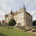 Ansicht des Schlosses Güstrow von Südwesten © 2008 BBL M-V