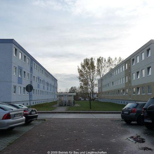 Die Häuser 11 und 9 Am Gorzberg - der bisherige Sitz des Finanzamtes © 2009 Betrieb für Bau und Liegenschaften Mecklenburg-Vorpommern