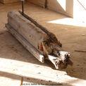 geschädigter Holzbalken © 2010 Betrieb für Bau und Liegenschaften Mecklenburg-Vorpommern