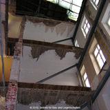 Bereich des neuen Treppenhauses © 2010 Betrieb für Bau und Liegenschaften Mecklenburg-Vorpommern