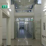 Flur im Bereich Radiologie/Notfallmedizin im Erdgeschoss des 1. Bauabschnittes © 2010 Betrieb für Bau und Liegenschaften Mecklenburg-Vorpommern