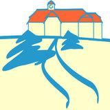 Piktogramm des Dienstgebäudes des bbl-mv Geschäftsbereichs in Neubrandenburg. © 2011 Betrieb für Bau und Liegenschaften