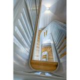 Auge in Auge mit der Dienertreppe: Blick in das sogenannte Treppenauge. © Detlef Klose  Schwerin