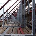 Dachgeschoss mit Stahlkonstruktion © 2014 Betrieb für Bau und Liegenschaften Mecklenburg-Vorpommern