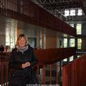 Katrin Klein vom BBL M-V Geschäftsbereich Hochschul- und Klinikbau ist für das Bauprojekt verantwortlich. © 2014 Betrieb für Bau und Liegenschaften Mecklenburg-Vorpommern