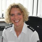 Isabell Wenzel ist Pressesprecherin des Polizeipräsidiums Rostock. © 2015 Polizeipräsidium Rostock