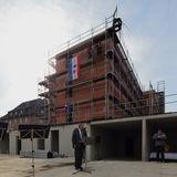 Richtfest am Neubau für Polizeidienststellen in Wismar © 2014 Betrieb für Bau und Liegenschaften Mecklenburg-Vorpommern