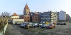 Erweiterungsbau am Oberverwaltungsgericht Greifswald für das Grundbuchamt. © 2015 Betrieb für Bau und Liegenschaften Mecklenburg-Vorpommern