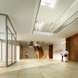 Foyer-Bereich im Erdgeschoss © 2013 MHB Planungs- und Ingenieurgesellschaft mbH  Rostock