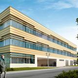 Nordseite mit Zugang zum Innenhof im Erdgeschoss © 2013 MHB Planungs- und Ingenieurgesellschaft mbH  Rostock