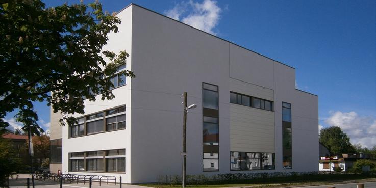 Nordostansicht von der Soldmannstraße © 2015 Betrieb für Bau und Liegenschaften Mecklenburg-Vorpommern