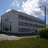Nordwest-Ansicht von der Loitzer Straße © 2015 Betrieb für Bau und Liegenschaften Mecklenburg-Vorpommern
