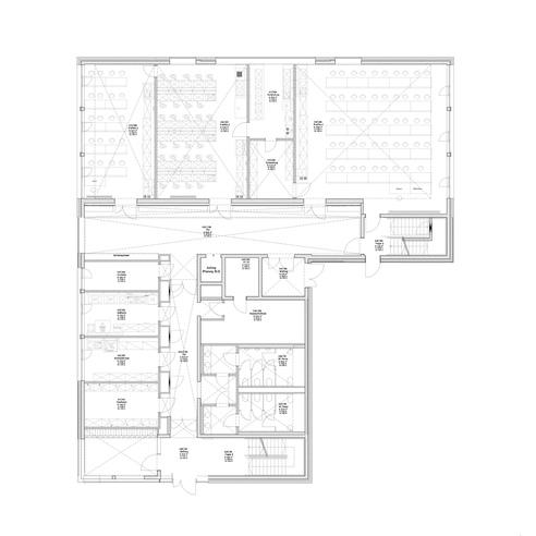 Grundriss Erdgeschoss © 2012 kister scheithauer gross Architekten und Stadtplaner GmbH  Leipzig