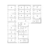 Grundriss 1. Obergeschoss © 2012 kister scheithauer gross Architekten und Stadtplaner GmbH  Leipzig