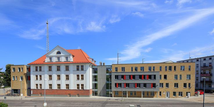 Kunst am Bau - Polizeiliegenschaft Rostock-Ulmenstraße © 2015 Betrieb für Bau und Liegenschaften Mecklenburg-Vorpommern
