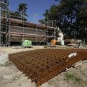 Der Bewehrungsstahl für die Decken liegt schon bereit. © 2015 Betrieb für Bau und Liegenschaften Mecklenburg-Vorpommern