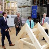Richtfest am Erweiterungsbau für das Staatliche Museum in Schwerin © 2015 Betrieb für Bau und Liegenschaften Mecklenburg-Vorpommern