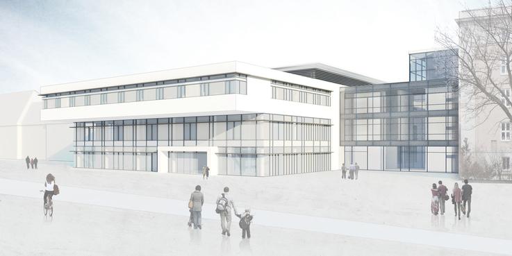 Visualisierung (Stand: Juni 2015) © © 2015 Haid +Partner Architekten +Ingenieure Generalplaner  Nürnberg