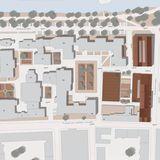 Lageplan zum Entwurfskonzept des Wettbewerbssiegers - der Campus mit den geplanten Neubauten © © Visualisierung Eßmann Gärtner Nieper Architekten Leipzig