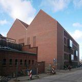 Bibliotheksneubau - Blick aus der Hunnenstraße © 2016 Betrieb für Bau und Liegenschaften Mecklenburg-Vorpommern