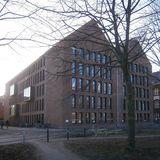 Bibliothek - Ansicht von Norden © 2016 Betrieb für Bau und Liegenschaften Mecklenburg-Vorpommern