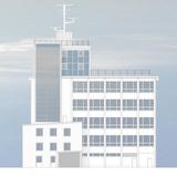 Visualisierung des Turmgebäudes. © 2015 Architekt  Dipl.-Ing. André Keipke  Rostock