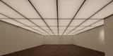 Im unteren Saal - mit LED-Technik gleichmäßig gut ausgeleuchtet. So kann die Kunst in das rechte Licht gerückt werden. © 2016 Betrieb für Bau und Liegenschaften Mecklenburg-Vorpommern