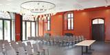 Blick in die ehemalige Reithalle. Künftig werden hier Konzerte und andere Veranstaltungen stattfinden. © 2017 Betrieb für Bau und Liegenschaften Mecklenburg-Vorpommern