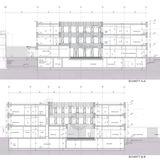 Gebäudeschnitte A-A und B-B © 2013 LUDES Generalplaner GmbH  Berlin