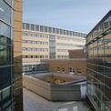 Blick vom Dach des 2. Bauabschnittes auf den Neubau DZ 7 © 2011 Betrieb für Bau und Liegenschaften Mecklenburg-Vorpommern