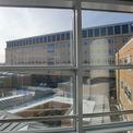 Blick vom 1. Bauabschnitt des Klinikums auf das DZ 7 © 2012 Betrieb für Bau und Liegenschaften Mecklenburg-Vorpommern