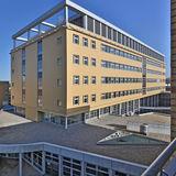 Neubau Diagnostikzentrum DZ 7 als Kernstück des Klinikums zwischen 1. und 2. Bauabschnitt © 2013 HWP Planungsgesellschaft mbH Stuttgart / Fotograf Vincent Leifer