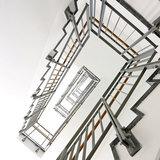 Detail Treppenhaus im DZ 7 © 2013 HWP Planungsgesellschaft mbH Stuttgart / Fotograf Vincent Leifer