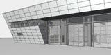 Ansicht der geplanten Stützpunktfeuerwehr im Marinestützpunkt © 2017 struhk architekten  Braunschweig