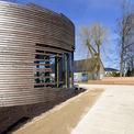 Pavillon mit Ausstellung. © 2017 Matrix Rostock / Betrieb für Bau und Liegenschaften Mecklenburg-Vorpommern