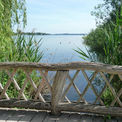 Blick auf den Schweriner See vor zwei Jahren. Die Brücke war noch in Ordnung. © 2017 Betrieb für Bau und Liegenschaften Mecklenburg-Vorpommern
