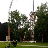 Geschafft! Das Verschrauben dauerte etwa eine Stunde. © 2017 Betrieb für Bau und Liegenschaften Mecklenburg-Vorpommern