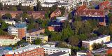 Blick auf das Areal der Hochschule © Manfred Sander