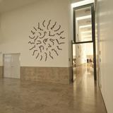 Wandgestaltung des Künstlers Matthias Geitel © Betrieb für Bau und Liegenschaften Mecklenburg-Vorpommern
