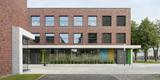 Blick auf das Laborgebäude © Marion Schmiedling/ Alexander Obst