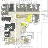 Grundriss Erdgeschoss mit neuem Raumkonzept © 2017 Betrieb für Bau und Liegenschaften Mecklenburg-Vorpommern