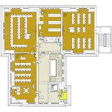 Grundriss 3. Obergeschoss mit neuem Raumkonzept © 2017 Betrieb für Bau und Liegenschaften Mecklenburg-Vorpommern