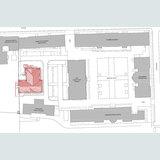 Das Historische Institut bildet den westlichen Abschluss des Universitätscampus. © 2012 Dipl.-Ing. Architekt Achim Dreischmeier