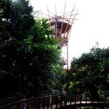 der 40 m hohe Aussichtsturm mit seiner 35 m hohen Aussichtsplattform © Betrieb für Bau und Liegenschaften Mecklenburg-Vorpommern