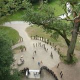 Ausgang des Baumkronenpfades © 2017 Betrieb für Bau und Liegenschaften Mecklenburg-Vorpommern