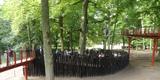 Eingang des Baumkronenpfades  von hier geht es hinauf. © 2017 Betrieb für Bau und Liegenschaften Mecklenburg-Vorpommern