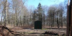 Der Platz für das Denkmal Friedrich der Fromme vor der Sanierung. © 2018 Betrieb für Bau und Liegenschaften Mecklenburg-Vorpommern